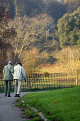 An elderly couple taking a stroll in the countryside. - Paul Box - 15-12-2005