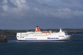 Stena Line ferry leaving Rosslare harbour in Ireland. - Paul Box - 20-12-2005
