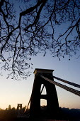Bristol Landmark. Clifton Suspension bridge - Paul Box - 20-12-2005