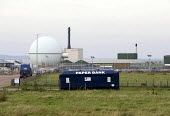 Dounreay nuclear power station. Scotland. They have installed a paperbank. - Paul Box - 01-04-2006
