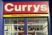 Currys ,Britains biggest electrical stores, superstore, Bristol. - Paul Box - 01-04-2006