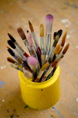 A pot of brushes. - Paul Box - 10-06-2006