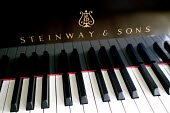 Steinway and Sons piano in a music room at school. - Paul Box - 10-06-2006