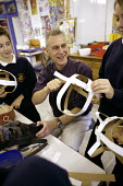Students in art class, Clevedon community school - Paul Box - 10-05-2006