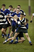 Boys playing rugby, Clevedon community school, Clevedon - Paul Box - 10-05-2006