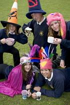 Mad hatters tea party at Cleevdon community school - Paul Box - 10-05-2006