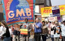 Bristol home care assistants protest against job privatisation. - Paul Box - 20-04-2007