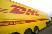 DHL parcel delivery lorry, Bristol. - Paul Box - 20-08-2007