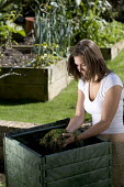 Recycling biodegradable material into compost for the garden - Paul Box - ,2000s,2005,anaerobic,anaerobically,at,bin,bins,biodegradable,clipping,clippings,compost,composted,composting,conditioner,Container,containers,cuttings,digested,digestion,domestic,earth,EMOTION,EMOTIO