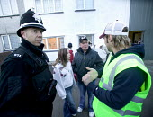 A community project to reduce crime in a urban area, located at the Winchestown Family Centre. Police, youth workers and police community officers in the centre engage with young people from the local... - Paul Box - 05-04-2006