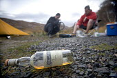 Camping after mountain biking in Arkle, Cape Wrath, Scotland. - Paul Box - whisky,2000s,2005,ADDICTION,ADDICTIVE,alcohol,Alcoholic,ALCOHOLICS,ALCOHOLISM,appliance,appliances,beverage,beverages,bicycle,bicycles,BICYCLING,Bicyclist,Bicyclists,bike,bikes,biking,Biking Trail,bin
