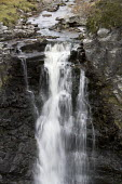 A waterfall in Arkle, Cape Wrath, Scotland. - Paul Box - 2000s,2005,cape,country,countryside,eni environmental issues,fall,falls,formation,geological,Highland,Highlands,landscape,landscapes,nature,outdoors,outside,rock,rocks,rural,Scotland,Scottish,Sutherla