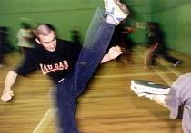 Karate classes Bristol. - Paul Box - 14-08-2001