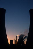 Industrial landscape in Middlesbrough. - Philip Wolmuth - 17-09-1999