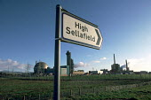 Sellafield nuclear reprocessing plant in Cumbria. - Philip Wolmuth - 27-04-1992