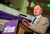Mayor of London Ken Livingstone speaks at the London Citizens Mayoral Accountability Assembly in Central Hall, Westminster. - Philip Wolmuth - 04-05-2004