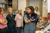 Cookery Class at St. Paul's Church Centre, Rossmore Road, Lisson Green. - Philip Wolmuth - 01-07-2004