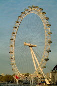 The London Eye, on the South Bank of the River Thames - Philip Wolmuth - 11-11-2004