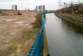 Contaminated land being cleared for the building of a new Aquatic Centre at Stratford, East London, proposed site of the 2012 Olympics. - Philip Wolmuth - 10-02-2005