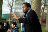 A Christian preacher at Speakers' Corner in Hyde Park, London. - Philip Wolmuth - 26-02-2006