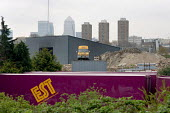 Building materials supply company at the site of the 2012 Games in the Lower Lea Valley, East London. Many local businesses will be displaced to enable construction of the Olympic stadium and related... - Philip Wolmuth - 25-04-2006