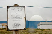 Shorebird Protection Area next to Sizewell nuclear power station, Suffolk - Philip Wolmuth - 02-08-2006