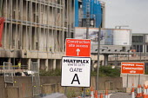 Westfield's �1.5 billion White City development in West London. Australian construction company Multiplex. - Philip Wolmuth - 25-08-2006