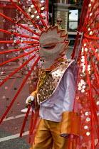Paddington Arts Elimu mas band parade on childrens day at Notting Hill Carnival - Philip Wolmuth - 27-08-2006