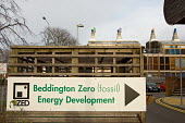 The Beddington Zero Energy Development BedZED in the London Borough of Sutton. The 82 mixed tenure housing units, part of the UK's largest carbon neutral eco community, were designed by Bill Dunster A... - Philip Wolmuth - 08-01-2007