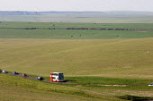 Rural bus service on the South Downs, East Sussex. - Philip Wolmuth - 08-04-2007