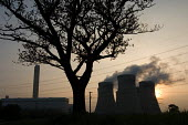 Drax, in Yorkshire, is the largest coal fired power station in the UK, generating 7% of the country's electricity and producing over 20 million tons of carbon dioxide per year. - Philip Wolmuth - 05-05-2007