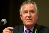 Peter Hain MP speaks at a Fabian Society hustings meeting for candidates for the deputy leadership of the Labour Party. - Philip Wolmuth - 16-05-2007