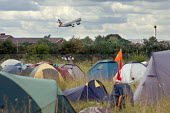 Camp for Climate Action at Heathrow, West London, the world's busiest airport. - Philip Wolmuth - 2000s,2007,3rd,activist,activists,aeroplane,aeroplanes,against,air transport,aircraft,airplane,airplanes,aviation,Camp,campaign,campaigner,campaigners,campaigning,CAMPAIGNS,camps,Climate Change,DEMONS