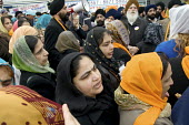 Thousands of local residents join a procession through Southall, West London, to celebrate the Sikh festival of Vaisakhi. - Philip Wolmuth - 06-04-2008