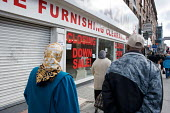 Closed down shops on Kilburn High Road. - Philip Wolmuth - 2000s,2009,bought,buy,buyer,buyers,buying,cities,city,Closed,closing,closure,closures,commodities,commodity,CONSUMER,consumers,Credit Crunch,customer,customers,DOWNTURN,EBF Economy,economic,economy,fi
