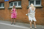 Two young women at Ascot racecourse on Ladies Day. - Philip Wolmuth - 18-06-2009