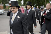 Prince Mohammed Bin Nawaf, Saudi Arabian ambassador to the UK, enters the Royal Enclosure at Ascot racecourse. - Philip Wolmuth - ,&,2000s,2009,AFFLUENCE,AFFLUENT,Bourgeoisie,class,day out,Day Tripper,Day Trippers,dressed up,dressing up,elite,elitism,EQUALITY,hat,hats,high,high income,income,INCOMES,INEQUALITY,Leisure,LFL,LIFE,l