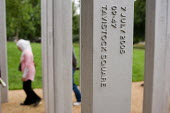 The 7/7 Monument in Hyde Park. The memorial to the 52 people killed in the London bombings of 7 July 2005 was designed by architects Kevin Carmody and Andy Groarke. Tavistock Square was the site of th... - Philip Wolmuth - 08-07-2009