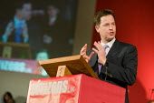 Nick Clegg, Citizens UK General Election Assembly, Central Hall, Westminster, London. - Philip Wolmuth - 03-05-2010