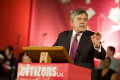 Gordon Brown, Citizens UK General Election Assembly, Central Hall, Westminster, London. - Philip Wolmuth - 03-05-2010