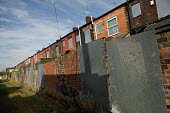 Houses in Derker, Oldham, scheduled for demolition as part of the Housing Market Renewal programme. - Philip Wolmuth - 08-10-2010