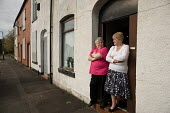 Lynn Ogden (left) is the last remaining resident in Ramsey Street in Derker, Oldham, where she has lived for 43 years. Her ex-neighbour Margaret Rowcroft (right) moved out 2 years ago. The street is s... - Philip Wolmuth - 08-10-2010