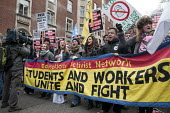 Students demonstrate in London against tuition fees and cuts in Educational Maintenance Allowance. - Philip Wolmuth - 29-01-2011
