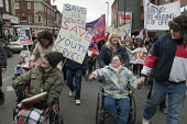 Barnet Alliance for Public Services march in Finchley, London, to protest against cuts and privatisation of council services. Save our youth service. - Philip Wolmuth - 2010s,2011,activist,activists,against,anti,Austerity Cuts,Barnet,Borough,CAMPAIGNING,CAMPAIGNS,council,cuts,DEMONSTRATING,demonstration,disabilities,disability,disable,disabled,disablement,government,