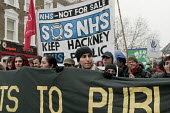 Hackney Alliance to Defend Public Services march against Hackney Council cuts. - Philip Wolmuth - 19-02-2011