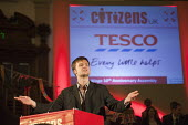 "Launch of a national campaign to demand that Tesco pay its employees a Living Wage. A �Day for Civil Society"" organized by Citizens UK / London Citizens to celebrate 10 years of the Living Wage Campai... - Philip Wolmuth - 02-05-2011"