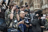 Group of Press photographers, Taxpayers Alliance rally, Westminster, London. - Philip Wolmuth - 14-05-2011