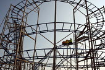 Roller Coaster ride on Clacton pier, Clacton-on-Sea Essex. - Philip Wolmuth - 03-08-2011