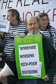 Boycott Workfare protest outside a Welfare to Work Conference in Islington, London. - Philip Wolmuth - 19-10-2011