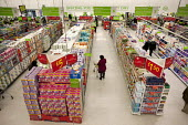 Asda supermarket, Clapham, London. - Philip Wolmuth - 2010s,2011,aisles,bought,buy,buyer,buyers,buying,cities,city,commodities,commodity,CONSUMER,consumers,consumption,customer,customers,EBF,Economic,Economy,FEMALE,goods,outlet,outlets,people,person,pers
